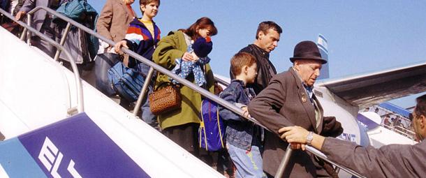 Le Keren Hayessod et tous ceux qui le dirigent et le soutiennent, ont joué, dès le début, un rôle dans cette grande saga moderne du peuple juif et vous avez une part dans notre satisfaction et notre fierté d'aujourd'hui     Le Premier ministre Itzhak Shamir, 1991