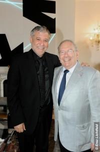 Meïr Cohen et Richard Prasquier