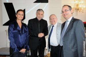 Judith Oks Meïr Cohen, Richard Prasquier, Tzvi Tal