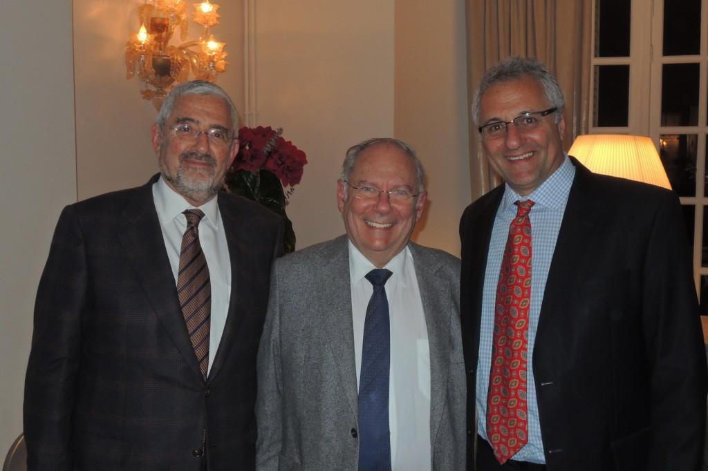 Allan Hoffman, Richard Prasquier et Greg Masel