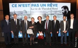 la vie de Theodor Herzl