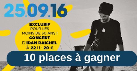10 places pour le concert d'Idan Raichel !