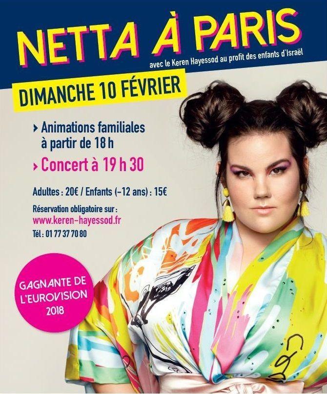 NETTA A PARIS